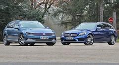 Essai Mercedes Classe C Break vs VWPassat SW : L'habit ne fait pas le moine