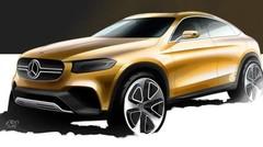 Mercedes GLC Coupé Concept 2015 : première esquisse pour le futur SUV teuton
