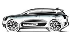 Qoros 2 PHEV concept : Qoros passe à l'hybride rechargeable