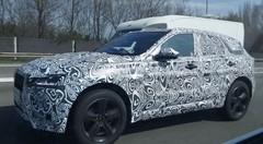 Jaguar F-Pace en test sur le Ring de Bruxelles