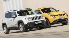 Essai Jeep Renegade vs Nissan Juke : les fortes têtes !