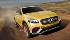 Le Mercedes GLC Coupé Concept s'échappe sur la toile