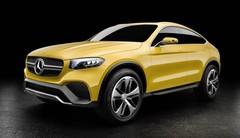 Mercedes Concept GLC Coupé : réaliste