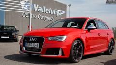 Essai Audi RS3 Sportback