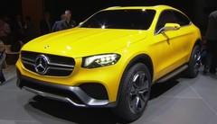 Mercedes-Benz GLC Coupé, un concept anti-BMW X4