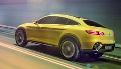 Mercedes Concept GLC Coupé : le BMW X4 dans le collimateur