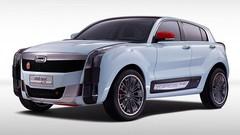Salon Shanghai 2015 : Qoros 2 SUV PHEV Concept