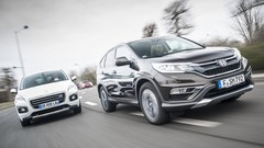 Essai Peugeot 3008 Hybrid4 vs Honda CR-V 1.6 i-DTEC 160 : Mode relaxation