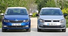Essai Skoda Fabia vs Volkswagen Polo : et si la tchèque dépassait l'allemande ?