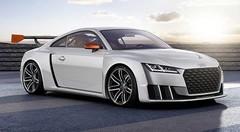 Concept Audi TT clubsport turbo : biturbo électrique