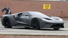 Spyshot: la Ford GT 2017 se montre après le salon de Detroit