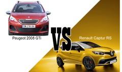 Peugeot 2008 GTi VS Renault Captur RS : les SUV de sport