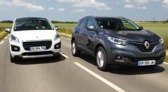 Essai Renault Kadjar vs Peugeot 3008 : le choc des SUV !