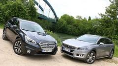 Essai Peugeot 508 RXH vs Subaru Outback : Breaks alternatifs