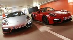 Essai Porsche Cayman GTS PDK vs Porsche Boxster GTS PDK : 9 secondes d'écart