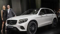 Mercedes GLC, uniquement avec des 4 cylindres