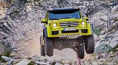 Le Mercedes G500 4x4² sera bel et bien produit !