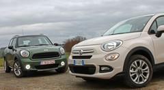 Essai Fiat 500 X vs Mini Countryman : Souris des champs