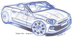 Future Fiat 124 Spider (2016) : la jumelle italienne de la MX-5