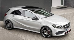Mercedes Classe A restylée : une version AMG à 381 ch