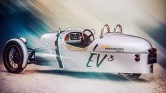 Morgan EV3 : 3 roues et un moteur électrique