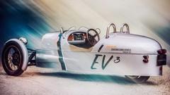 EV3 Concept : la Morgan Three Wheeler électrique