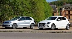 Essai Mazda2 vs Volkswagen Polo : Choc des cultures