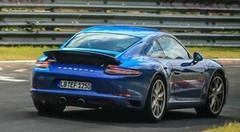 Future Porsche 911 2016 : nouvelles photos scoop