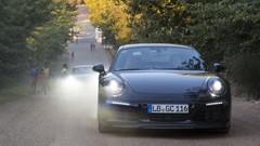 La Porsche 911 restylée se montre