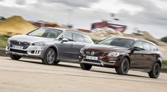 Essai Peugeot 508 RXH vs Volvo V60 Cross Country : les breaks chics