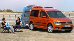 Volkswagen Caddy Beach : ouverture des commandes