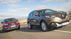 Essai  Renault Kadjar 1.6 dCi 130 4WD vs Honda CR-V 1.6 i-DTEC 160 : À la conquête de l'Eldorado
