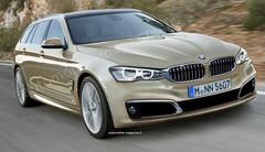 BMW Série 5 Touring 2017 : Parée à charger