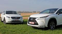 Essai Lexus NX-300h vs Volvo XC60 D4 : Loup vert