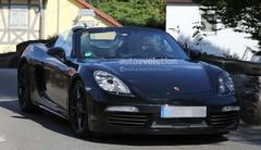 Le Porsche Boxster restylé perdra des cylindres