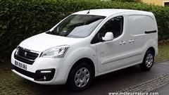 Prise en mains Peugeot Partner Electrique