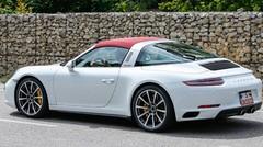 La Porsche 911 Targa 2016 surprise avec une nouvelle sortie d'échappement