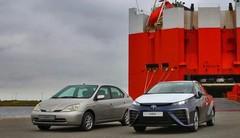 Les premiers exemplaires de Toyota Mirai arrivent en Europe