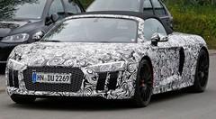 Audi R8 Spyder 2017 : Première prise