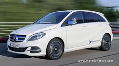 Mercedes classe B électrique, vers les 500 km d'autonomie