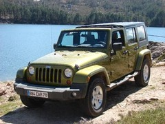 Essai Jeep Wrangler Unlimited : force 5