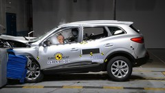Kadjar : vidéo et résultats du crash-test EuroNCAP