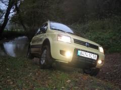 Essai Fiat Panda 4x4