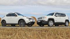 Essai Nissan Juke vs Jeep Renegade : Achats subjectifs