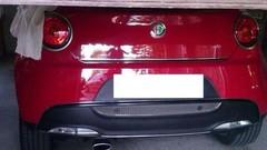 L'Alfa Romeo Mito restylée montre son derrière