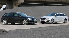 Essai Audi A3 Sportback vs Mercedes CLA Shooting Brake : Breaks de classe