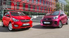 Essai Opel Karl vs Kia Picanto : Combat de Rue