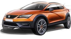 Seat Leon Cross Sport Concept 2015 : les premières images