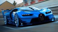 Bugatti Vision Gran Turismo, d'abord sur les écrans