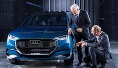 Audi e-tron quattro Concept, électrisant !